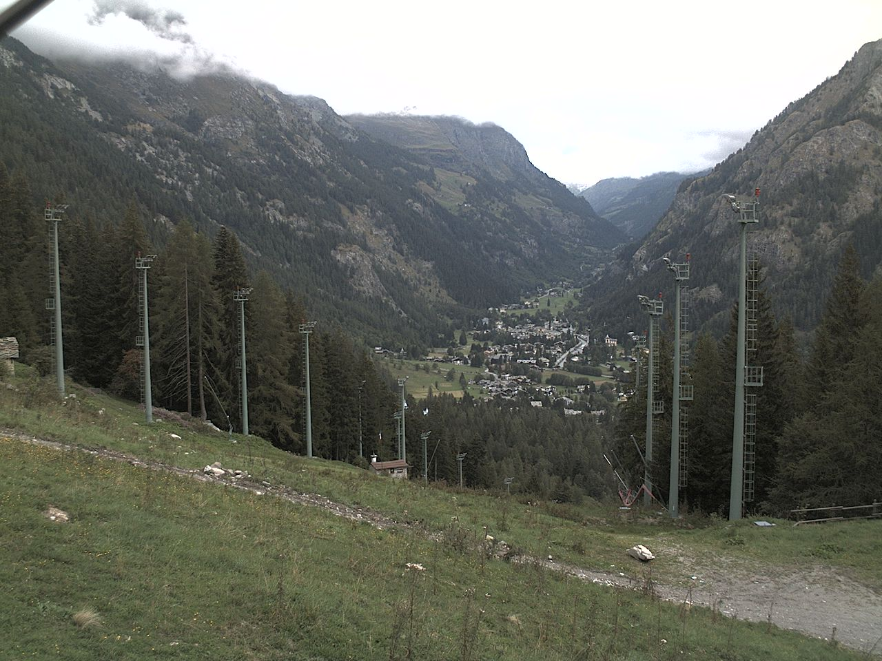 Gressoney Saint Jean webcam - Clicca per ingrandire