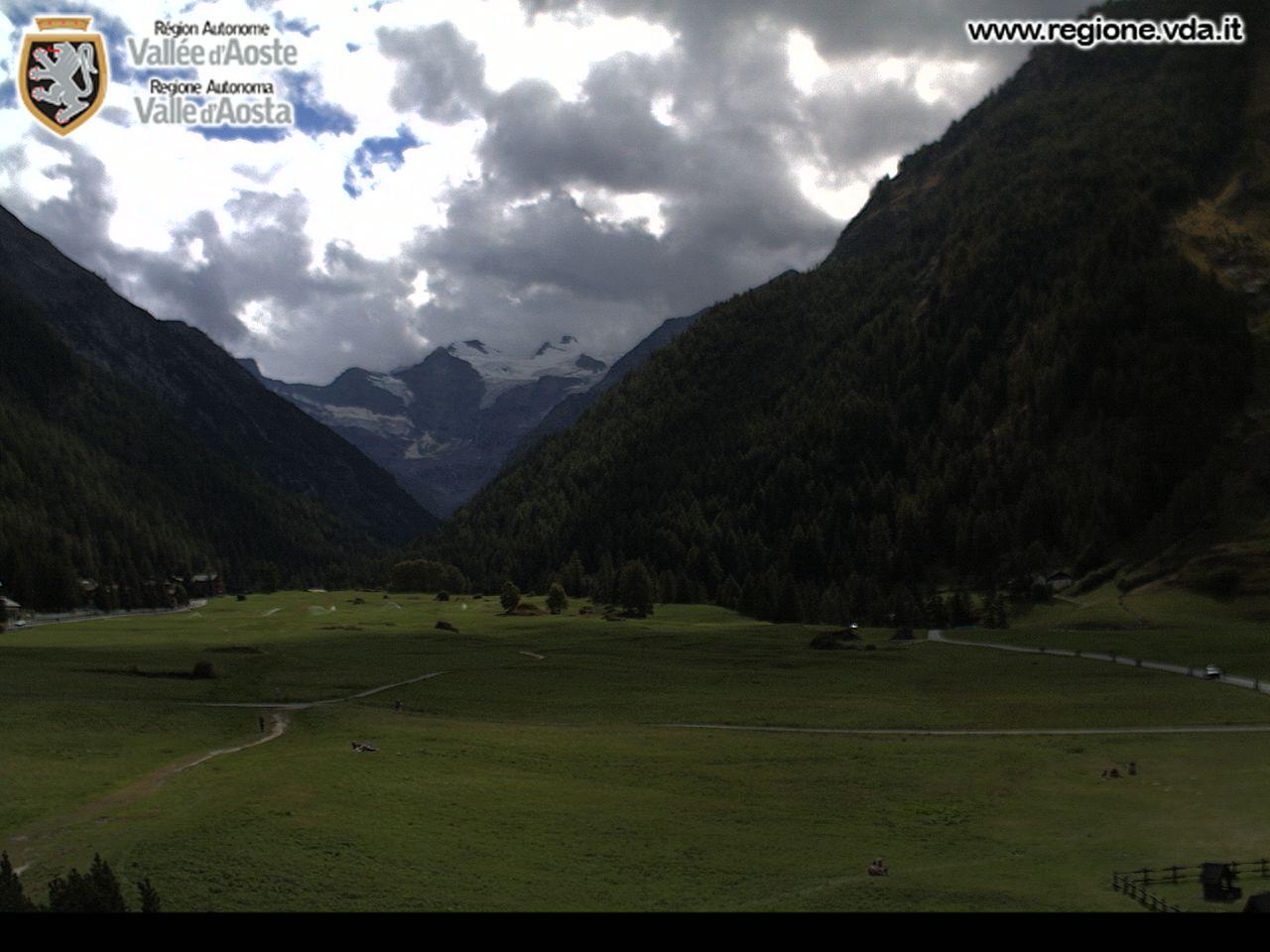 Webcam skigebied Cogne