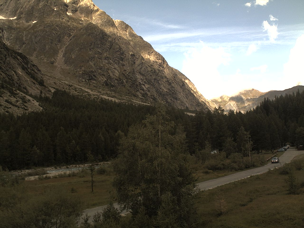 Courmayeur Val Ferret Webcam