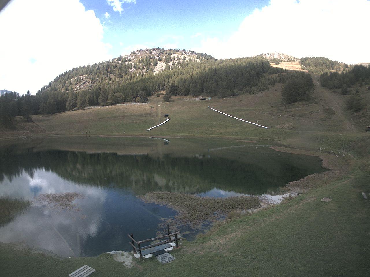 Webcam Chamois(Lago di    Lod)
