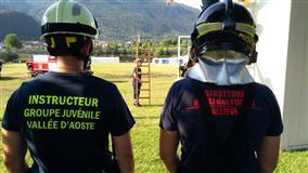 Gressan: Primo Campeggio regionale  dei Gruppi Giovanili dei VVF Volontari della Valle d´Aosta