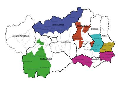 Valle D Aosta Cartina Politica.L Informatore Agricolo L Informateur Agricole