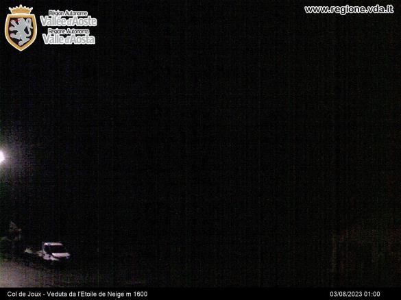 Clicca ed ingrandisci l'immagine della webcam del servizio informativo della Regione Valle d'Aosta
