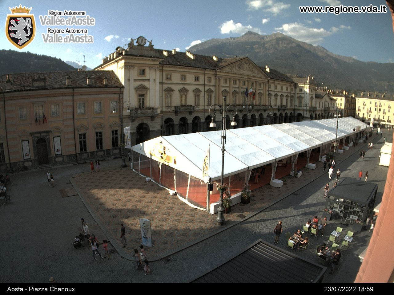 webcam aosta