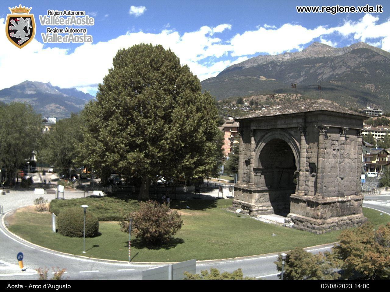 Aosta Arco di Augusto