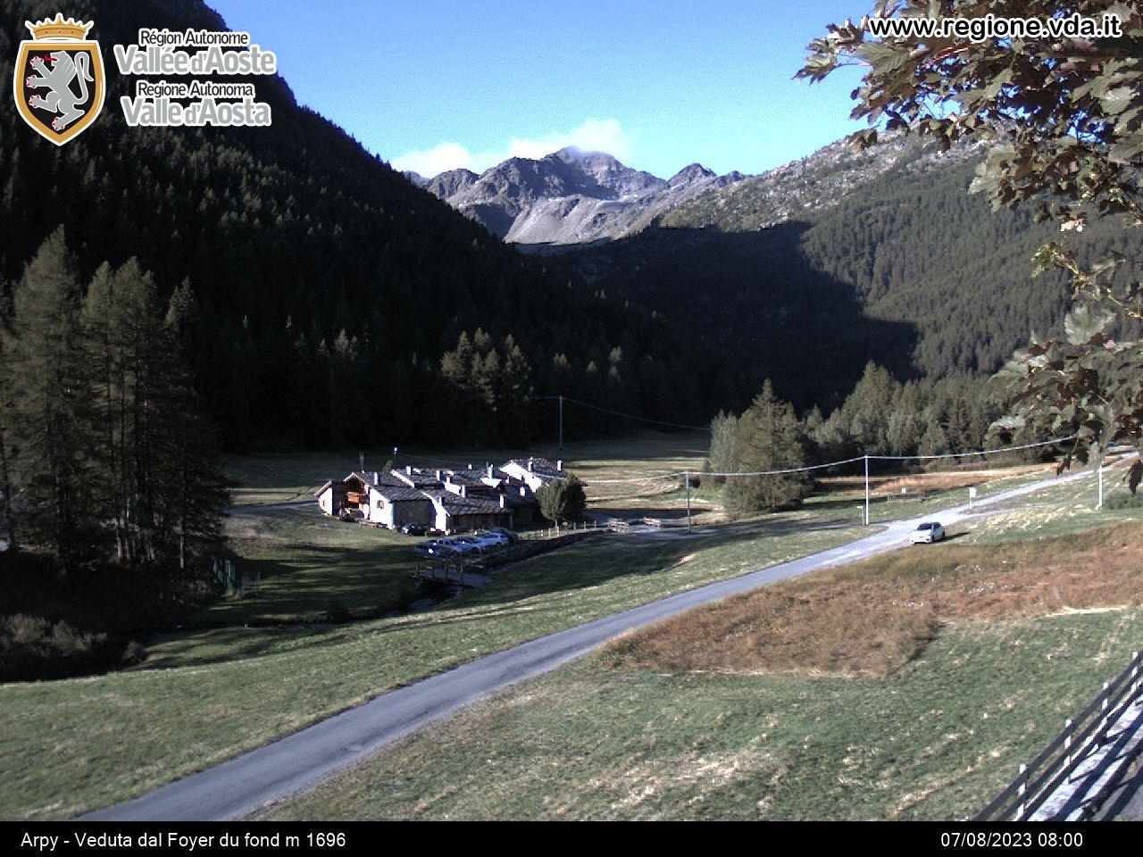 Aosta - kamery internetowe