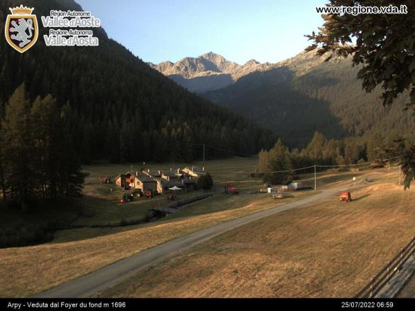 Courmayeur Webcam