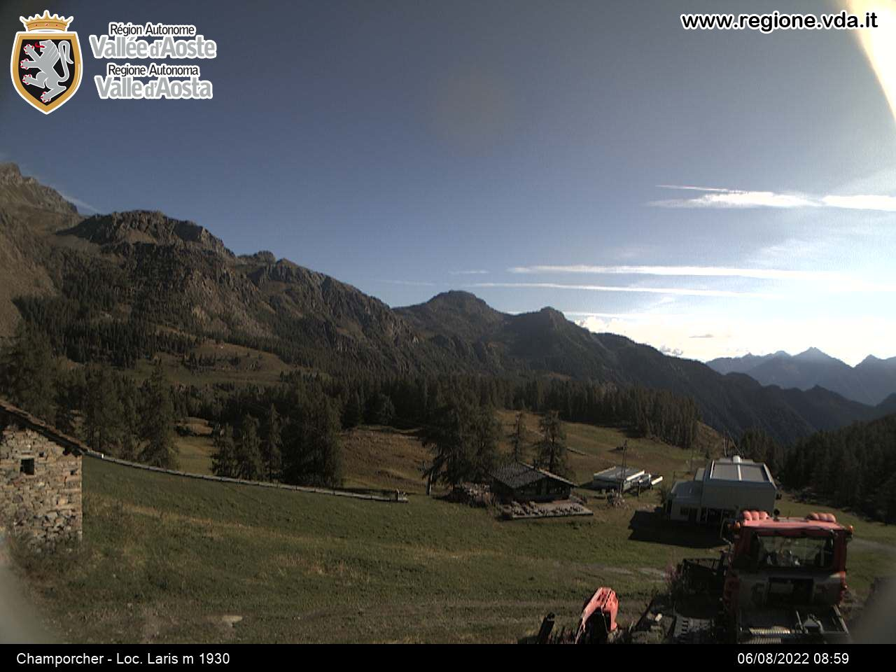 Webcam Valle di Champorcher