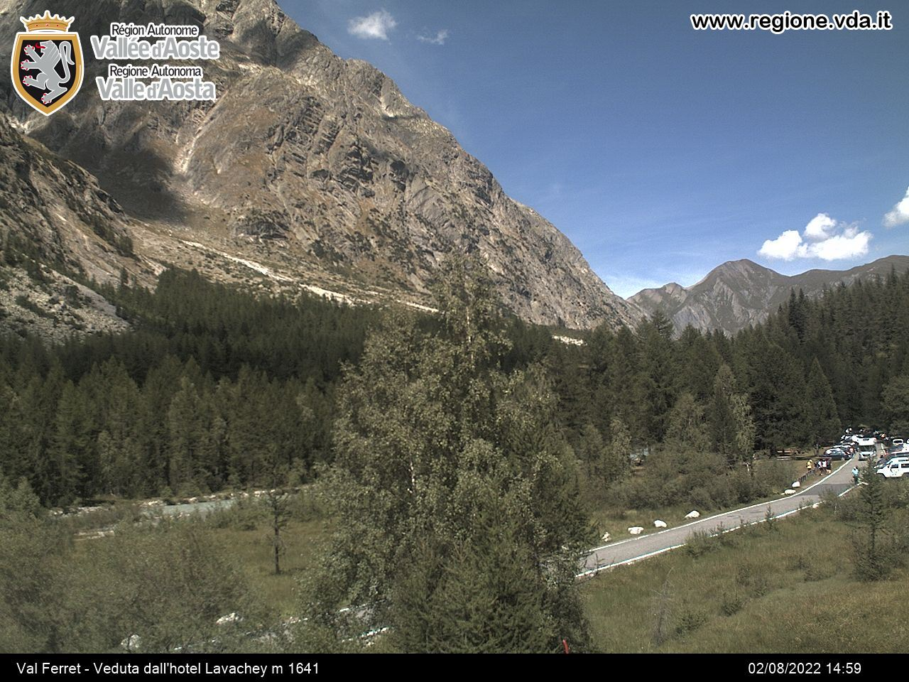 webcam courmayeur