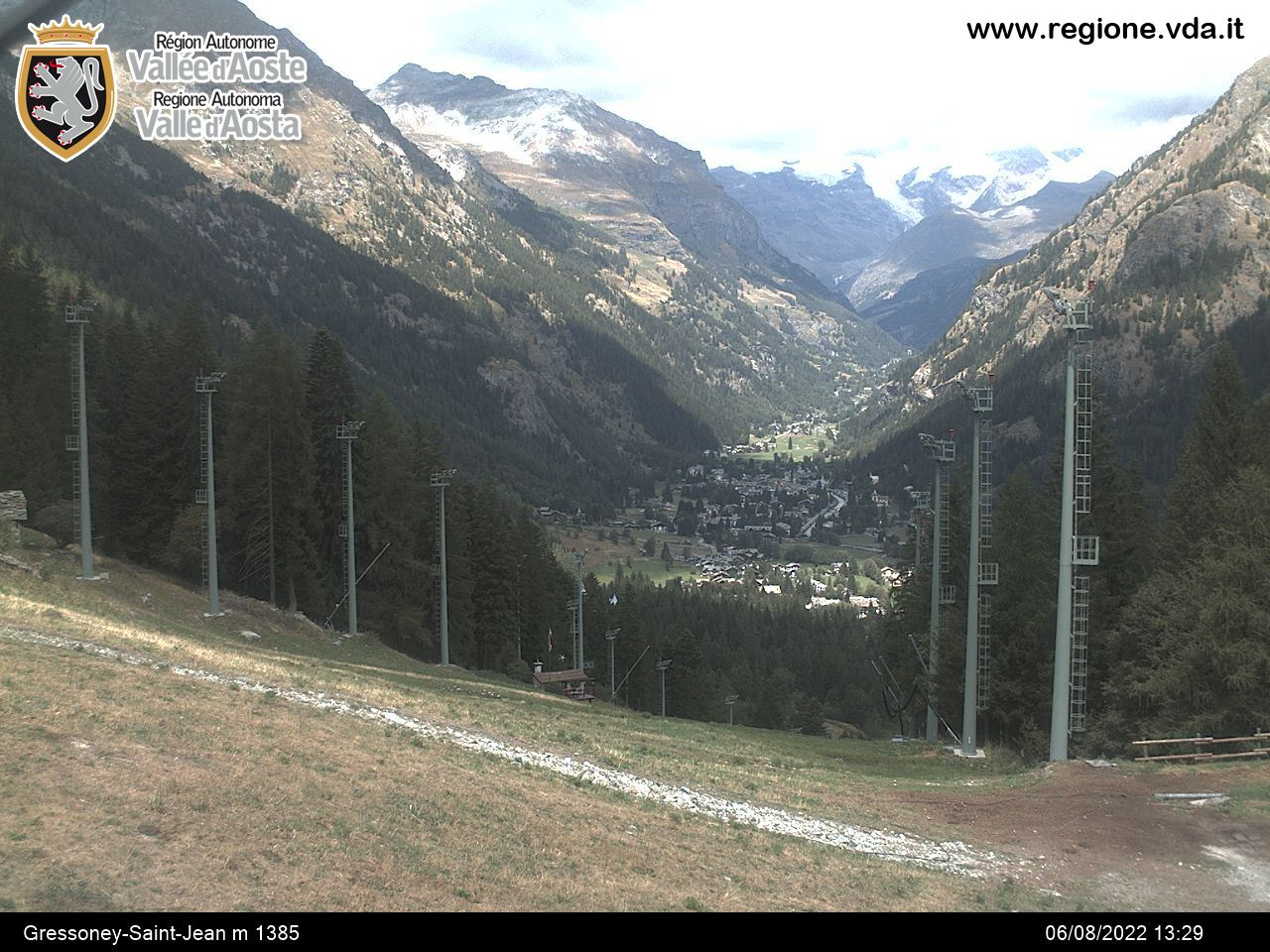 webcam gressoney