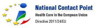 Logo del Punto di contatto nazionale per la sanità transfrontaliera