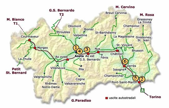 Cartina Valle D Aosta Stradale.Opportunita Localizzative Regione Autonoma Valle D Aosta