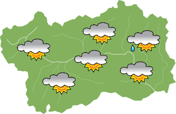 Weather - Sunday 23-06-2019