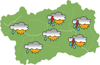 Weather - Wednesday 26-06-2019