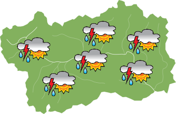 Meteo - martedì 18-05-2021