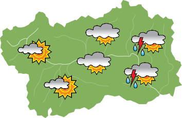 Weather - Sunday 19-05-2019