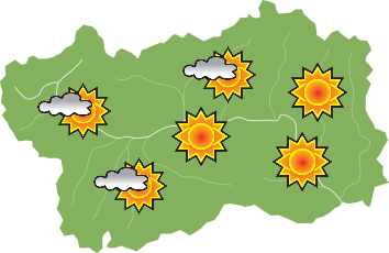 Weather - Wednesday 24-07-2019