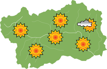 Weather - Wednesday 20-06-2018